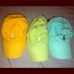 Polo Hats (sold together)